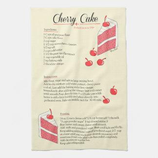 Cherry Cake Towel キッチンタオル