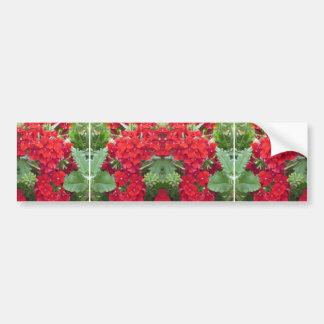 CherryHILLのおもしろいの花の花束NVN219 NavinJOSHI バンパーステッカー
