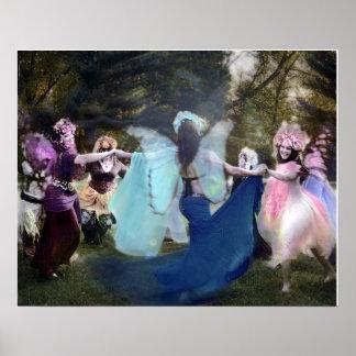 Cheryl著公平に踊る妖精の国 ポスター