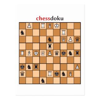 chessdoku ポストカード
