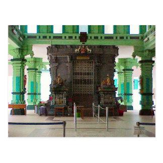 Chettiarのヒンズー教の寺院、中央神社 ポストカード