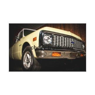 Chevyのトラック キャンバスプリント