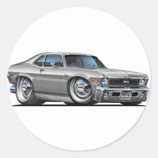 Chevyの新星の銀車 ラウンドシール