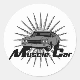 Chevyの新星筋肉車 ラウンドシール