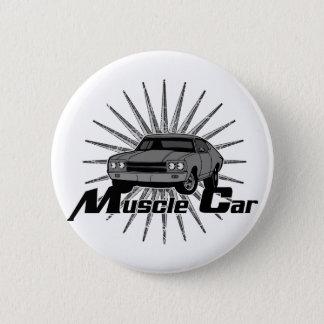 Chevyの新星筋肉車 5.7cm 丸型バッジ