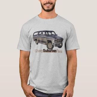 Chevyの灰色 Tシャツ