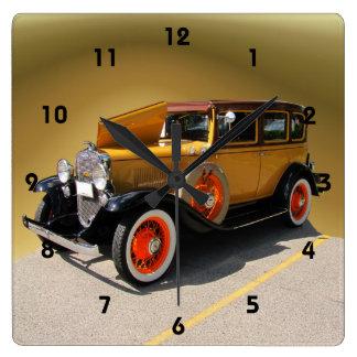 Chevyの特別な~の時計 スクエア壁時計