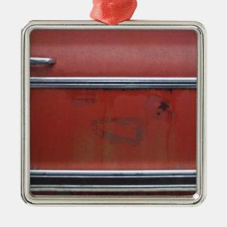 Chevyの赤い銀製のトリム メタルオーナメント