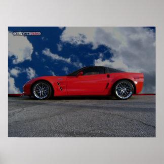 ChevyコルベットZR1 ポスター