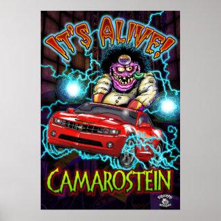 Chevy赤いCamaro SSポスター ポスター