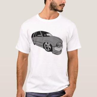 Chevy銀製のXtremeのブレザー Tシャツ