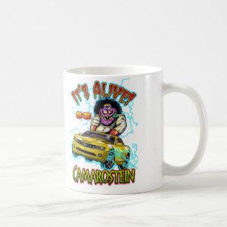 Chevy黄色いCamaro SSの二重味方されたマグ コーヒーマグカップ