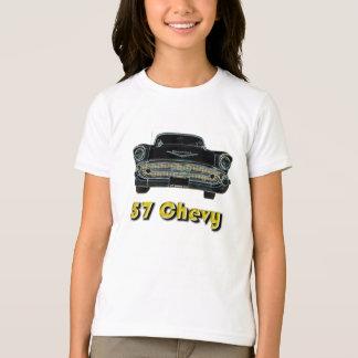 Chevy 57人のBel Airの子供のTシャツ Tシャツ