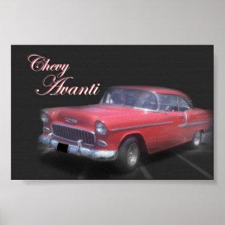 Chevy Avanti ポスター