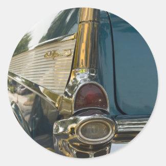 Chevy Bel Airのテールフィン ラウンドシール