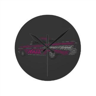 Chevy Bel Air ラウンド壁時計