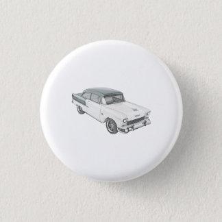 Chevy Bel Air 3.2cm 丸型バッジ