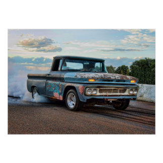 Chevy C10の焼損 ポスター