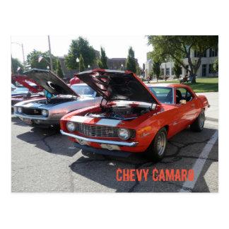 Chevy Camaroの郵便はがき ポストカード