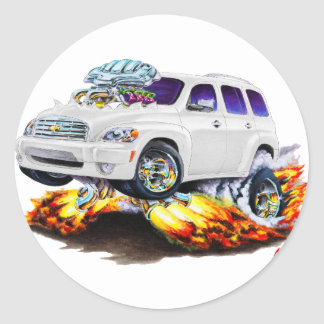 Chevy HHRの白のトラック ラウンドシール