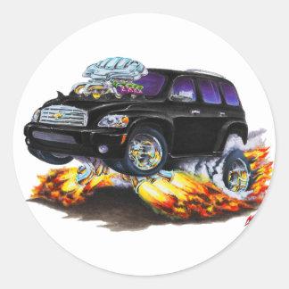 Chevy HHRの黒いトラック ラウンドシール