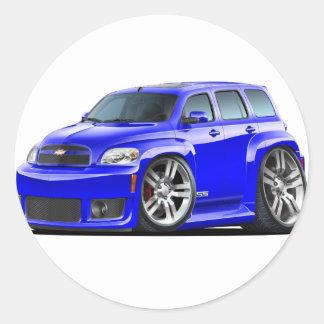 Chevy HHR SSの青のトラック ラウンドシール