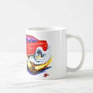 Chevy Vegaの赤車 コーヒーマグカップ