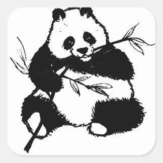 Chewing Panda スクエアシール