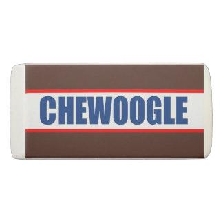 Chewoogleの消す物 消しゴム