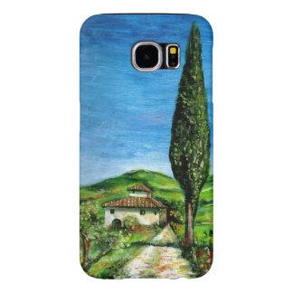 CHIANTIのタスカニーの景色/古い農家 SAMSUNG GALAXY S6 ケース