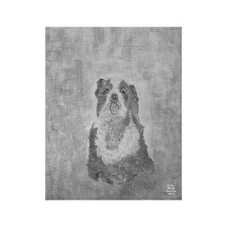 Chiari犬: Spaniel無頓着な王 キャンバスプリント