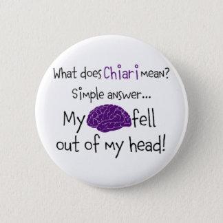 Chiari -私の頭脳は落ちました 缶バッジ