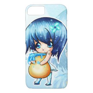 Chibinime -かわいい電話箱の占星術のアクエリアス iPhone 8/7ケース