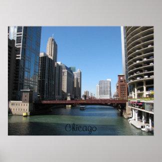 Chicago川 ポスター