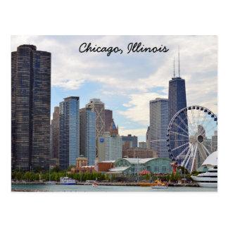 Chicago, Illinois Postcard ポストカード