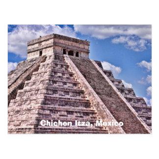 Chichen Itzaのメキシコの郵便はがき ポストカード