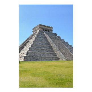 Chichen ItzaメキシコKukulkanのピラミッド7の驚異 便箋