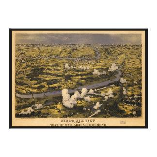 Chickahominy Rivの内戦の戦い。 1862年6月27日 キャンバスプリント