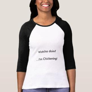 Chickening -レディースTシャツ Tシャツ