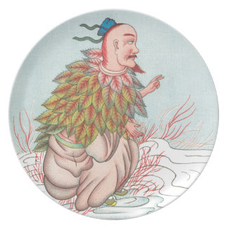 Ch'ih-tsing-tzeのthoの火の神 プレート