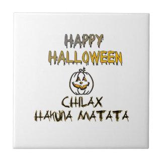 ChilaxのハッピーハローウィンHakuna Matata タイル