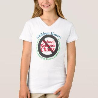 Children Matter Parents Against Behavior Charts Tシャツ
