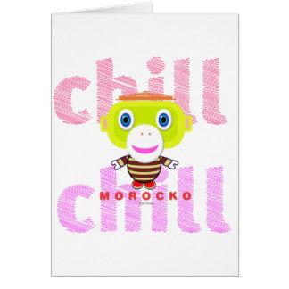Chill-Cute Monkey-Morocko カード