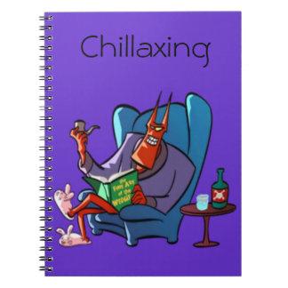 Chillaxing悪魔のリラックス ノートブック