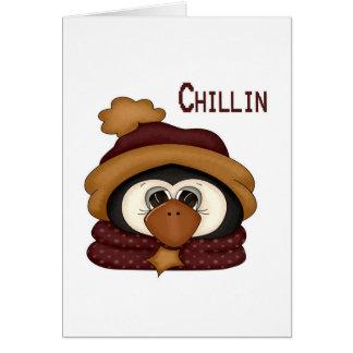 Chillinのペンギン カード