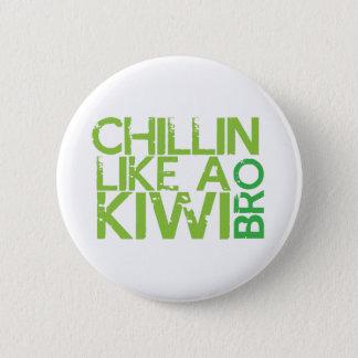 ChillinはキーウィBROを好みます 缶バッジ