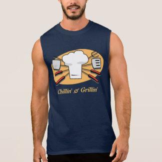 Chillin及びGrillin 袖なしシャツ