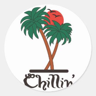 Chillin ラウンドシール