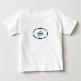 Chilmarkの楕円形の設計 ベビーTシャツ