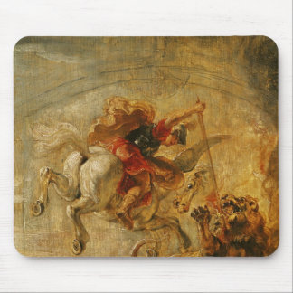Chimaeraを戦っているペガソスに乗るBellerophon マウスパッド
